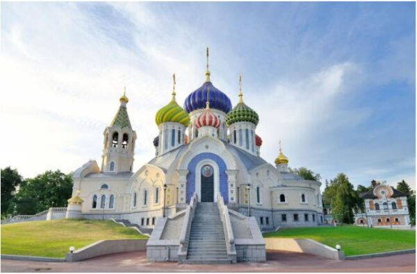 Handsome mosques are part of Russia