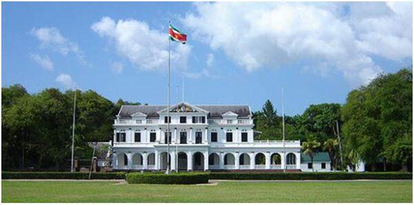 The capital of Paramaribo