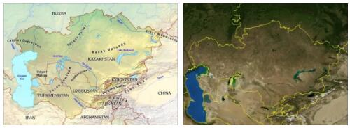 Central Asia Geography